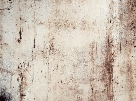 Roestige metalen geschilderde plaat achtergrond, grunge textuur