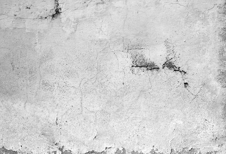 unkept: Old concrete dirty wall texture or background Stock Photo