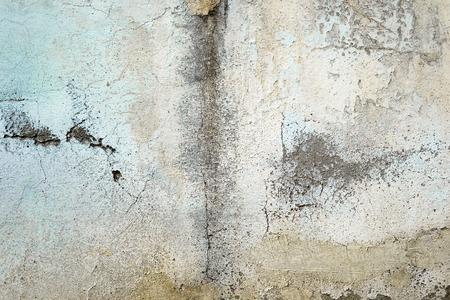 テクスチャや背景を描いた古い汚れた壁