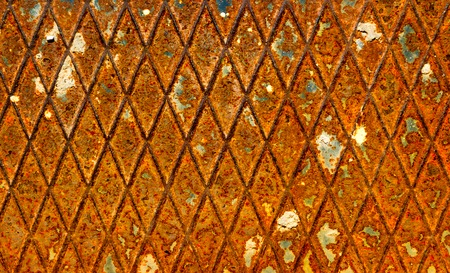 patchy: Abstract grunge old rusty metal steel background texture
