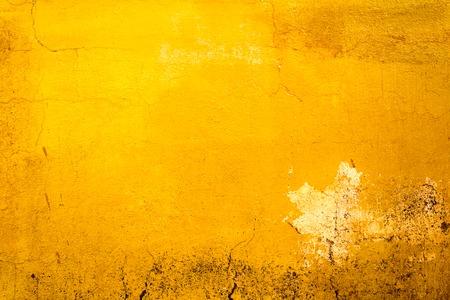 黄色の塗装古い汚いコンクリート壁のテクスチャや背景 写真素材 - 44105808