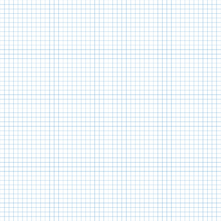 Math seamless pattern with squares. Vector illustration of graph seamless background