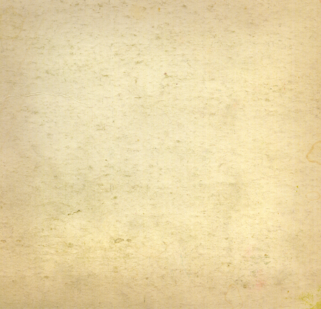 Beige old blank canvas paper texture background. Closeup