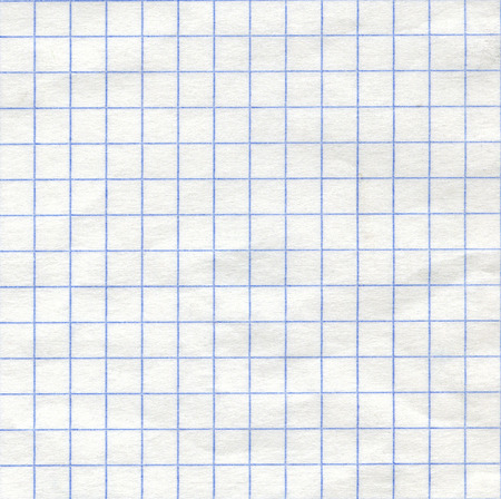 square background: Detailed blank math paper pattern texture as background.