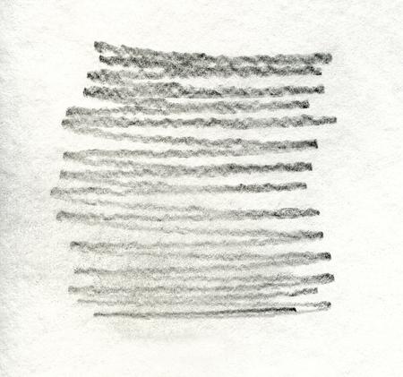 grafito: Grunge textura de l�piz de grafito sobre papel blanco Foto de archivo