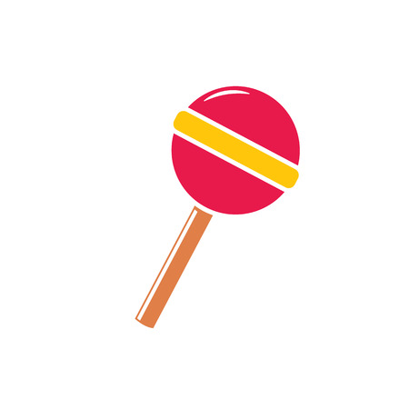 Sweet candy, lollipop icon vector