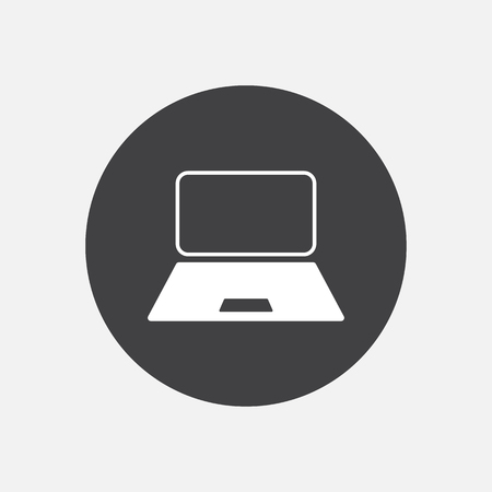 pc: Computer laptop monitor pc icon