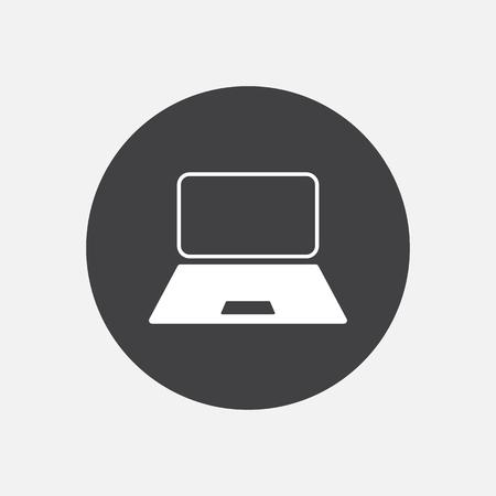 pc icon: Computer laptop monitor pc icon