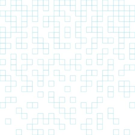 Dissolved math paper squares vector