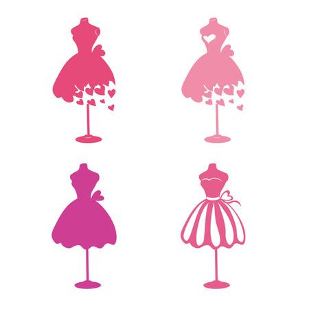 illustrazione moda: Manichini Dress