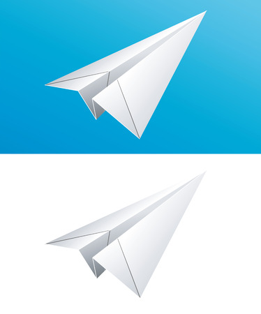 vector illustration of Paper plane Vector