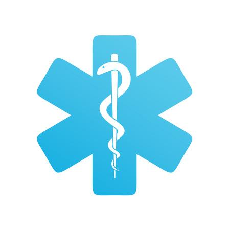 白、シンボル、健康、緊急医療アイコン  イラスト・ベクター素材