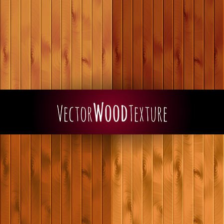 boarded: vector wood texture background. wall floor or illustration Illustration