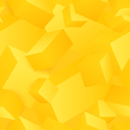 Vector seamless pattern of abstract 3d cubes.