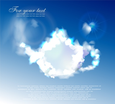 Clouds collection Stock Vector - 10318495