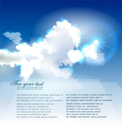 적란운: 구름 컬렉션 일러스트