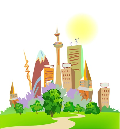 City collection Stock Vector - 10317789