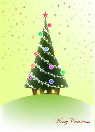 Christmas background Stock Vector - 10317800