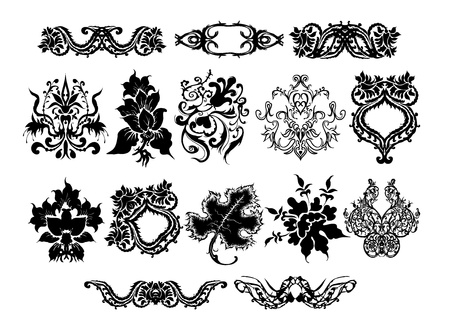 collection of design elements Stock Vector - 10326820