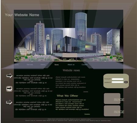 megalopolis: web template