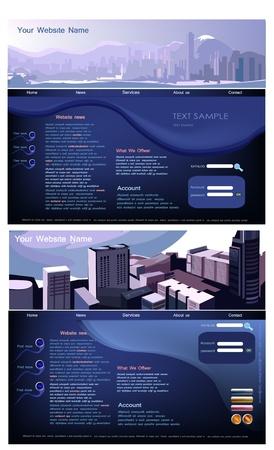 net bar: website template