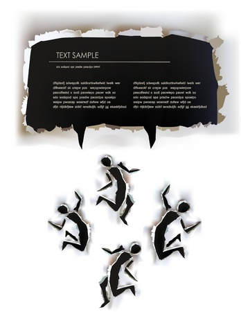 olimpic: paper collection background Illustration