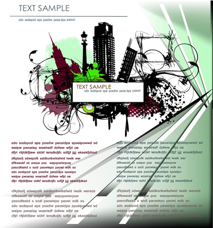 page template Vector