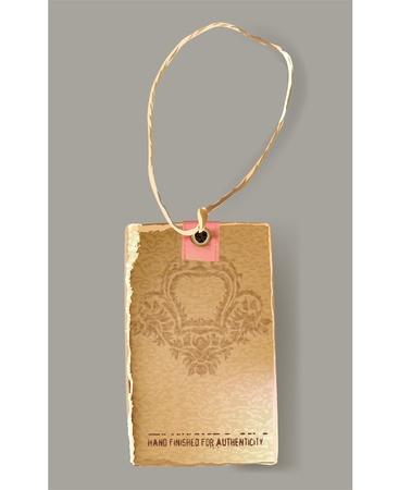 paper tag: vector label  Illustration
