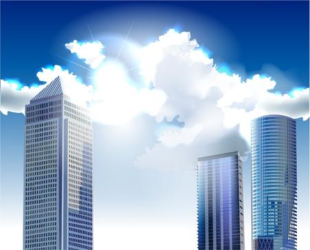 modern arhitecture Stock Vector - 10336237