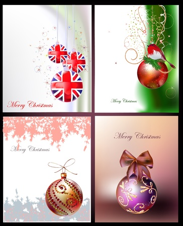 christmas backgrounds  イラスト・ベクター素材