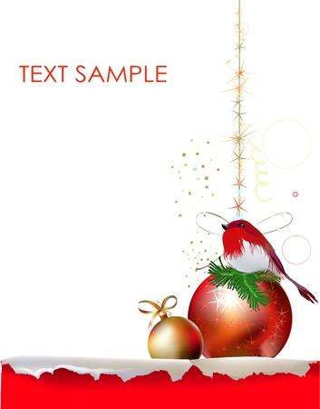 christmas beads: christmas background