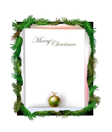 christmas background Stock Vector - 10365473