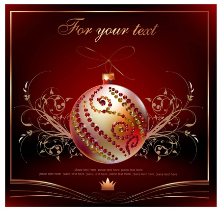 christmas background Stock Vector - 10365376