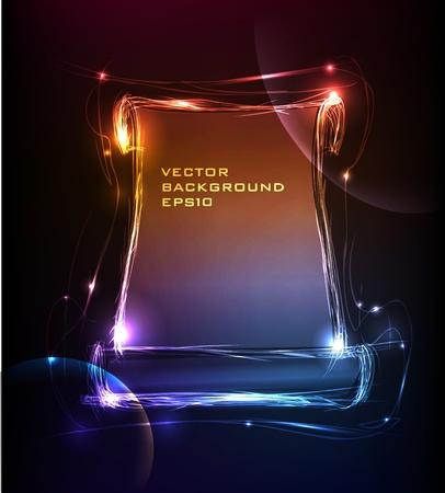 effetti di luce: neon raccolta Bunner Vettoriali