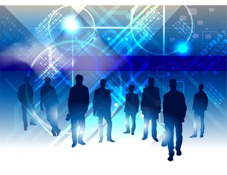 business team Stock Vector - 10375436