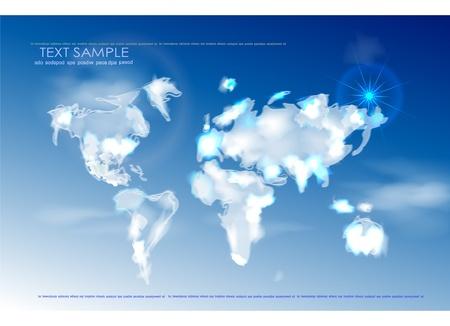 germany map: sky map