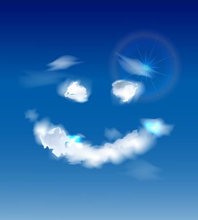 sky smile Stock Vector - 10375402