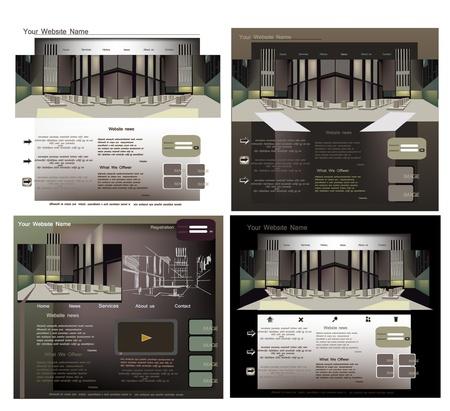 net bar: web templates
