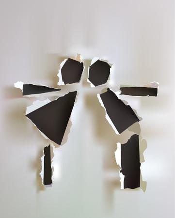 colección de papel Kiss