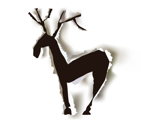 running reindeer: reindeer 3