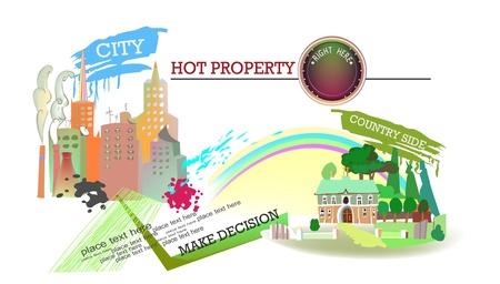 realestate: property background Illustration