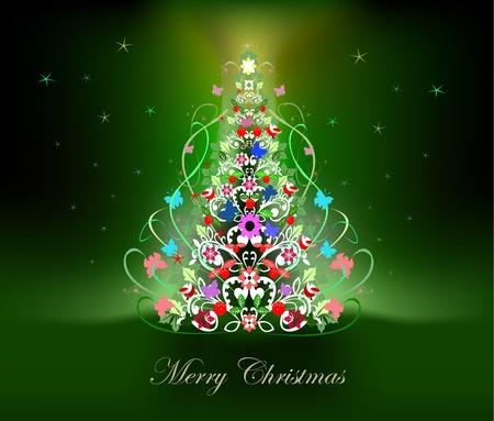 fairyland: Christmas tree