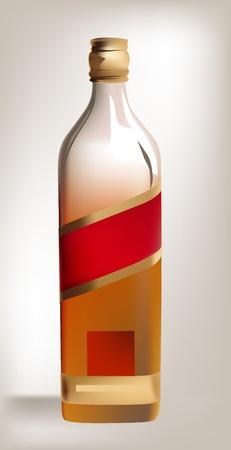 bottle of wickey Stock Vector - 10402213