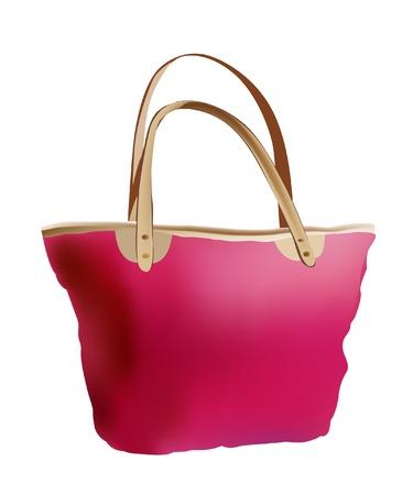hand bag: veranos bolsa de mano Vectores