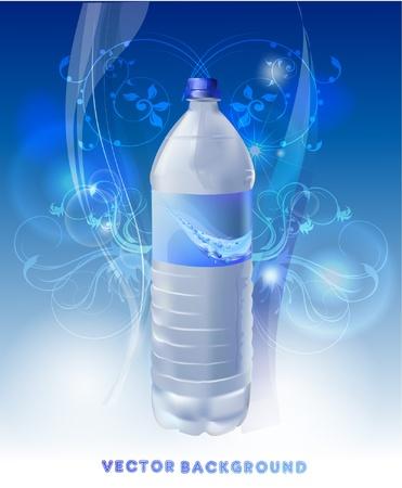 bouteille d'eau Vecteurs