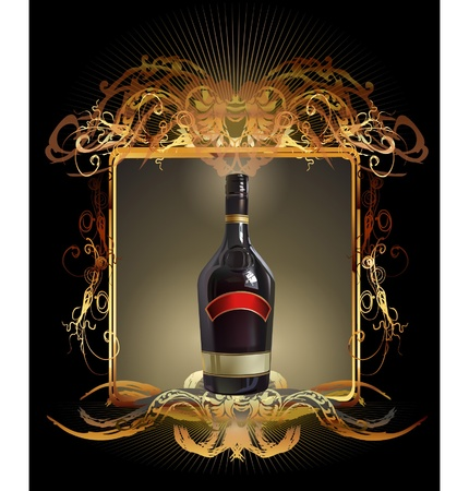 wine label Stock Vector - 10402771