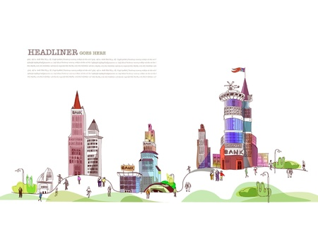 aria: banca aria ilustraci�n Vectores
