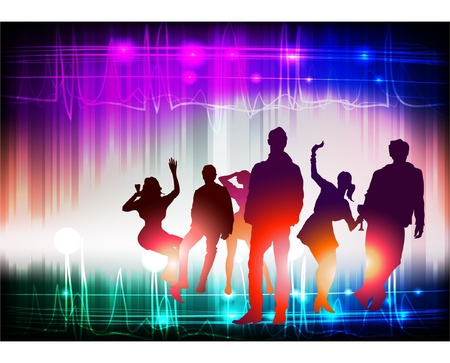 night club Stock Vector - 10403038