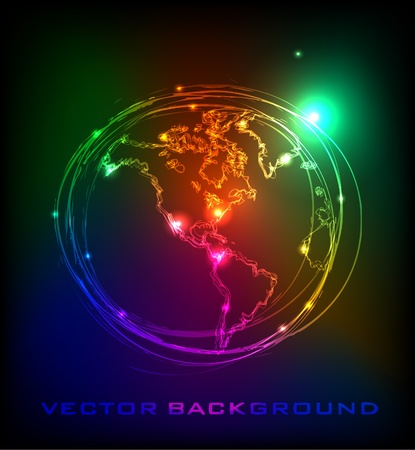planet Earth Vector
