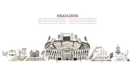 velocipede: sports competition stadium